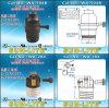 E26 Turn Knob Swithc Lampholders, 2-Circuit, 3-Terminal Wa-504b
