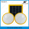 Energy Saving Solar Green Lighting System for 2 Rooms Integrated Mobile Phone Charging