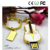 Gold Guitar U Disk Especially USB Flash Drive Pendrive 128MB-128GB