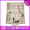 2015 Stock Interesting Kid Wooden Tool Box Toy, Funny Play Wooden Toy Tool Box Toy, Best Sale Wooden Workbench Tool Toy W03D021