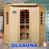 Far Infrared Sauna Room Carbon Heater G3c Corner Sauna