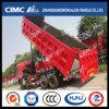 FAW/Hongyan/Shacman/HOWO/Dongfeng/Beiben/Liuqi 6*4 Dump Truck with Cimc Huajun Strengthened Cargo Box