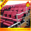 Classic Wood Telescopic Cricket Telescopic Seating System Portable Grandstand Bleacher