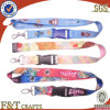 High Quality Custom Christmas Printed Polyester Lanyard with ID Clip