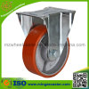 European Type Cast Iron Polyurethane Industrial Caster