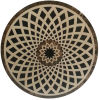 Decorative Marble Medallion Mosaic Tile