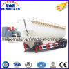 3 Axle Vertical Type Flour/Cement/Grain/Powder Material Transporator Semi Trailer Tanker