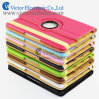 Hot Lychi Rotating Leather Case for iPad Air 5