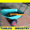 Plastic Wheel Barrow Wheelbarrow Wb3500 with 3 Wheels