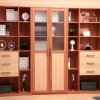 Oppein Customized Modern Practical Wood Grain Bookshelf (SG11304)