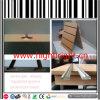 MDF Slatwall Board with Aluminium Alloy Profile