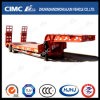 11.5m 2axle Lowbed Semi Trailer with Concave Beam