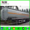 Stainless Steel Tri-Axle Oil Tanker Truck Trailer