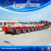 Hydraulic Modular Spmt Semi Trailer Heavy Hauling Equipment Hauler Lift