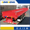 CE CCC Tri-Axles 40ft Flatbed Container Truck Trailer