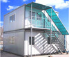 Prefabricated Container House for Office Shop or Hotel