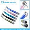 Metal Colored Push Button Dental High Speed Handpiece