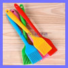 Color BBQ Silicon Brush Baking Oil Basting Brush Cooking Pastry Bakeware Oil Roast Rubber Brush (TV-506)