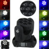 RGBW 7X12W LED Beam Wash Moving Head Stage Lighting