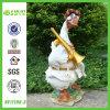 Grumpy Duck Series Musician Duck Resin Statue (NF11196-3)