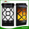 Solar Dancing Flame Lighting Flickering Outdoor Waterproof Fence Darden Wall Light