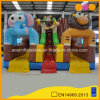 Customized Giant Animal Inflatable Toy Cliffy Tunnel Slide (AQ01673)