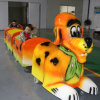 Trackless Kiddie Ride on Light Sensor Supermall Train for Amusement
