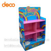 Paper Display Rack Corrugated Cardboard Display Shelf