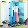 PP Material Folding Plastic Storage Box Bedroom Armoire Wardrobe