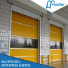 Industrial Roll-up High Speed Door with Ce Approved