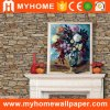Guangzhou Cheap Brick Stone Wall Paper Home Decorative Paper Wallpaper 3D Designs
