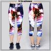 Polyester Spandex Yoga Capri Pants OEM Service High Quality Sportswear