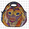 Lion Pattern Insulated Lunch Bags Small Kids Girls Boy School Picnic Food Cooler Bag