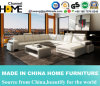 Modern Style Corner Sectional Sofa, White Italy Leather (HC1006)