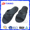 Whole Black Simple Style EVA Slipper for Men (TNK35618)
