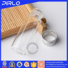5ml Clear Glass Vial with Silver Metal Screw Lid Small Tubular Glass Bottle Vial