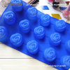 15 Small Flowers 29.5*17.5*2.5cm Silicone Baking Molds