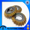 HSS Double Equal Angle Milling Cutter with Tin Coating