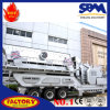 Mobile Vertical Shaft Impact Crusher Crushing Plant