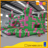 Cheap Beautiful Color Block Inflatable Castle Bouncer for Customized (AQ592)