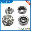 Custom 15mm Metal Snap Button for Babies Clothing