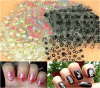 3D Mixed Styles Flower Design Nail Art Stickers Accessories