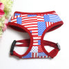 Dog Clothes Mesh Dog Harness Covered with Us Flag (YD635-1)