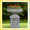 Marble Stone Antique Finish Planter Pot & Flower Vase