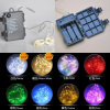 Heat-Insulated Waterproof Battery Box Colorful 30LED 10.8FT Rope String Lights