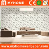 Guangzhou Wholesale Vinyl Wallpaper White (PW0705)