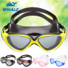 Adult Silicone Anti Fog and UV Swim Mask with PC Lnes (CF-7505)