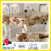 PVC Golden and Emboss Table Overlay Factory