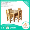 Children's Kindergarten Furniture of Wooden Tables and Chairs with CE/ISO Certificate