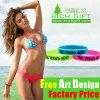 Factory Directly Custom Promotional Silkscreen Adjustable Silicon Bracelet
